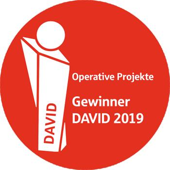 """Logo der Auszeichnung """"DAVID"""""""